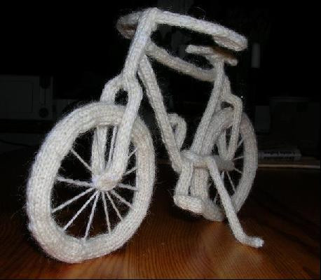 Knitted Bicycle 2