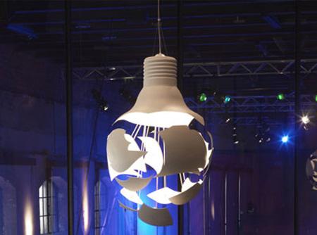 Broken Light Bulb Lamp