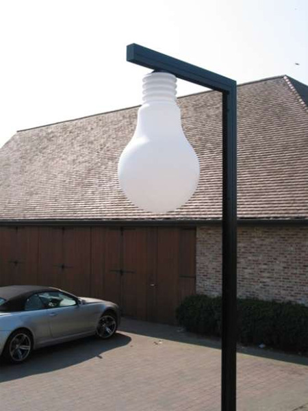 Giant Light Bulb Shaped Lamp