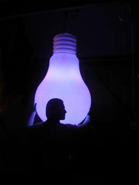 Giant Light Bulb Shaped Lamp 2