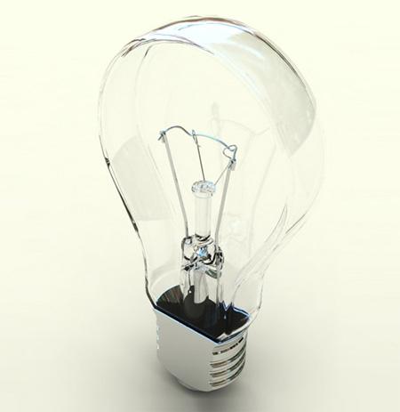 Flat Light Bulb 2