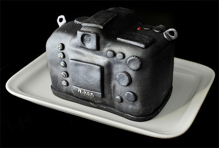 Incredible Nikon D700 DSLR Cake 6
