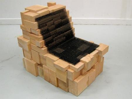 Screw Chair by Revol Design