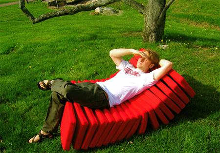 Segmented Chair by Revol Design 2
