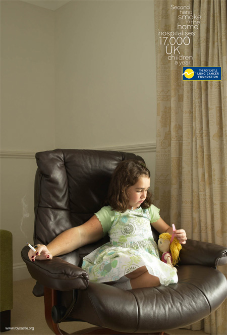 Roy Castle Lung Cancer Foundation Ads 3