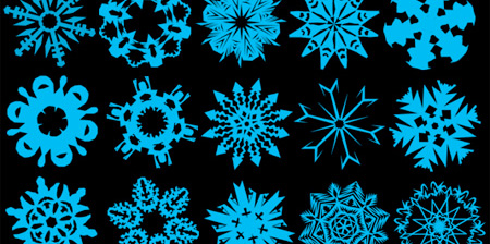 Free Christmas Photoshop Brush Sets