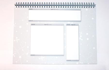 Web Design Sketchbook from Hyper Interaktiv 3