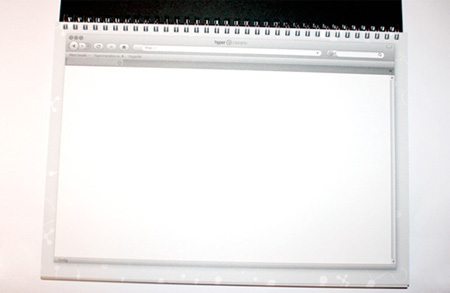 Web Design Sketchbook from Hyper Interaktiv 4