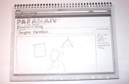 Web Design Sketchbook from Hyper Interaktiv 5