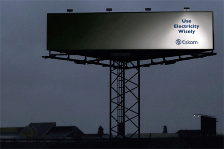 Eskom Electricity Billboard