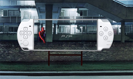 Sony PSP Billboards