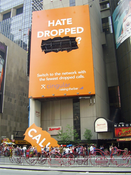 Cingular Billboard