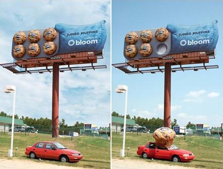 Jumbo Muffins Billboard