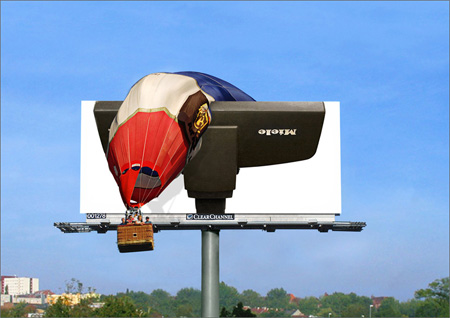 Miele Vacuum Cleaner Billboard