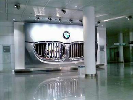 BMW Billboard in Germany