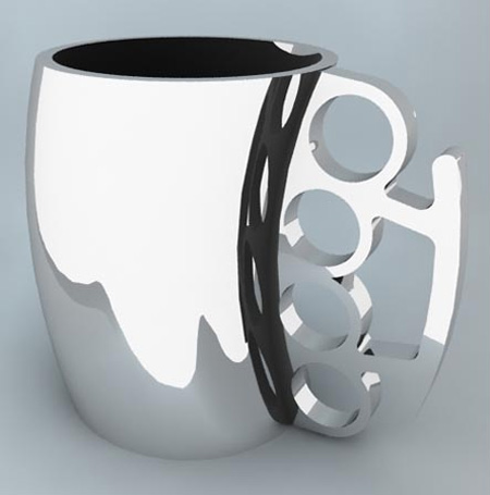 Cup Design Ideas monogram mug Punch Coffee Mug