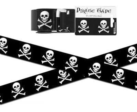Pirate Packing Tape
