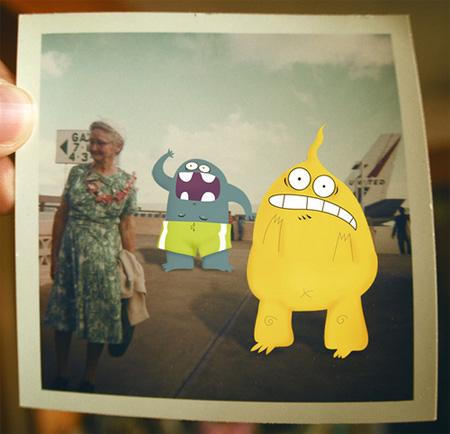 Friendly Monsters by Relleno De Mono 9