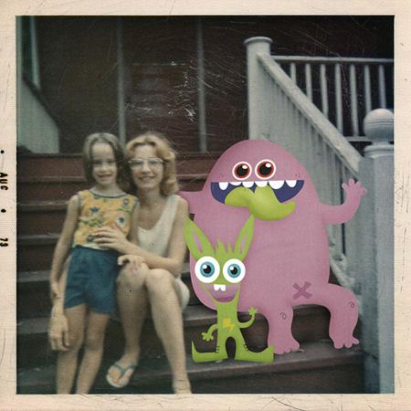 Friendly Monsters by Relleno De Mono 13