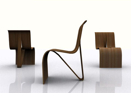 Stackable Kulms Chair by MisoSoup Design 2