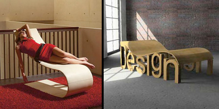 Modern and Creative Long Chair Designs