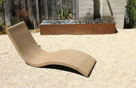 Chaise Lounge from Concreteworks Studio