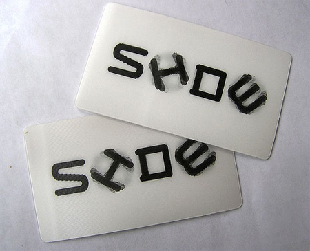 Side Show Business Card