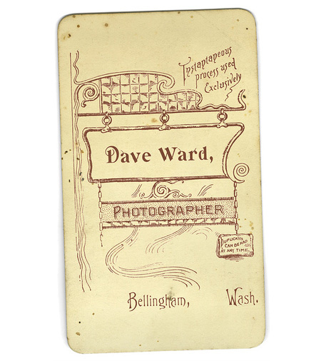 Dave Ward Business Card