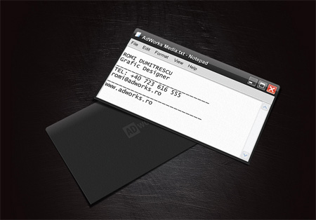 Adworks Media Business Card