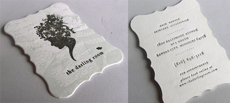 The Darling Room Business Card
