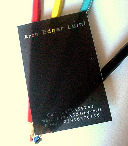 Edgar Laini Business Card