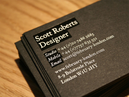 Scott Roberts Business Card