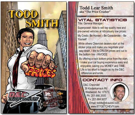 Todd Smith Business Card