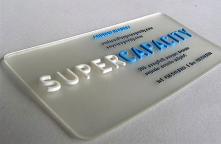 Super Capacity Business Card