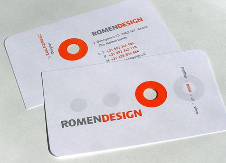 Romen Design Business Card