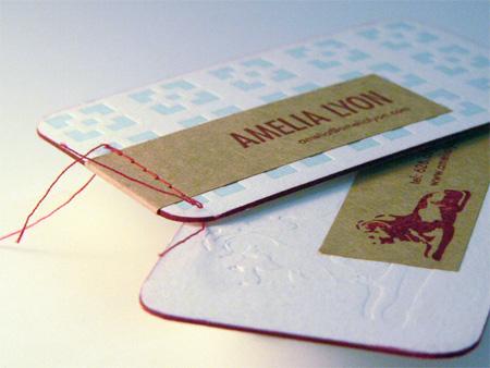Amelia Lyon Business Card