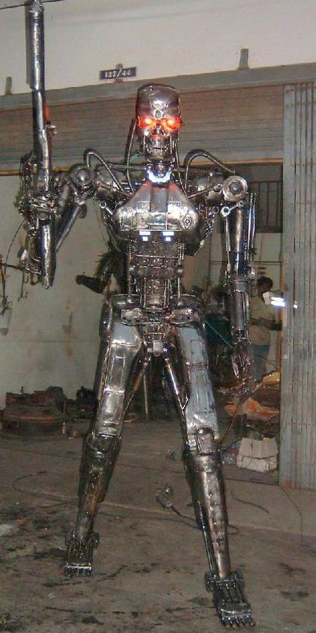 Terminator Metal Sculpture