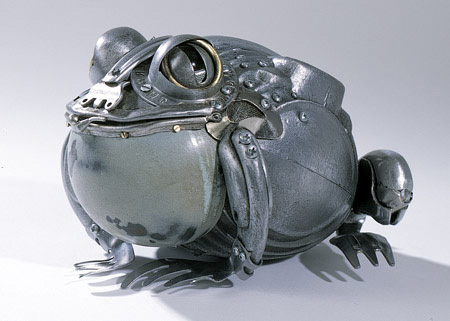 Metal Sculptures by Edouard Martinet