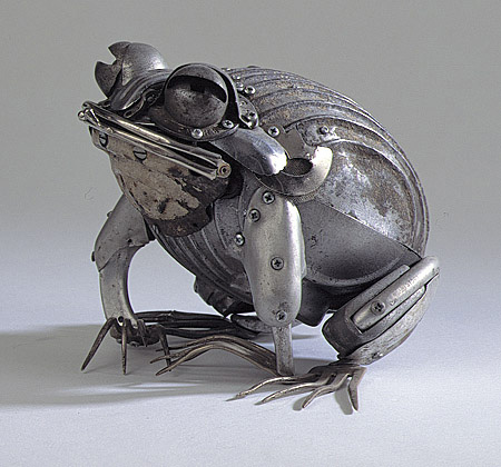 Metal Sculptures by Edouard Martinet 3