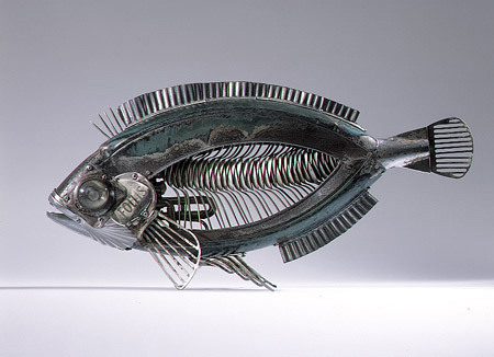Metal Sculptures by Edouard Martinet 4