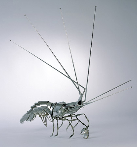 Metal Sculptures by Edouard Martinet 5