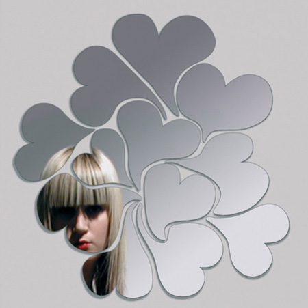 Modern mirrors and creative mirror designs - Stickers miroir ikea ...