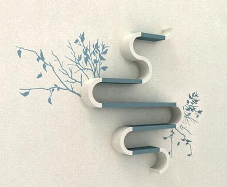 Modern Shelves by Maria Yasko 2