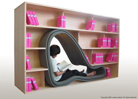 Cave Bookcase 3