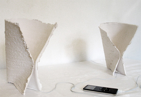 Ceramic Paper Speakers