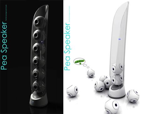 Pea Speaker Concept