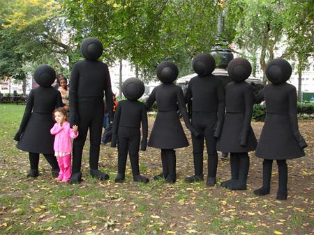 The Pedestrian Project by Yvette Helin 4