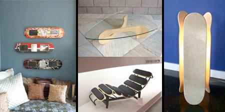 Skateboard Inspired Furniture Designs