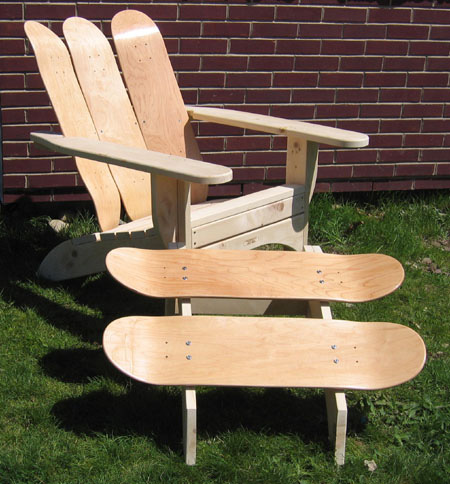 Skateboard Chair