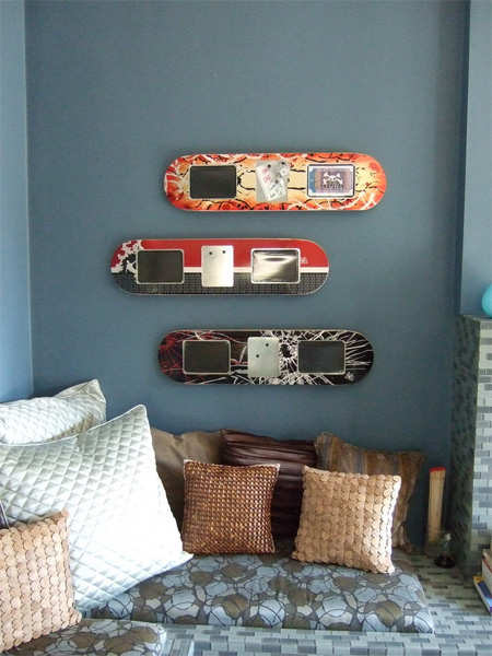 Skateboard Picture Frames